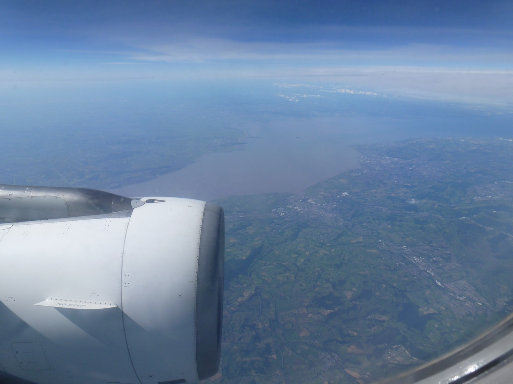 Cork vanuit de lucht.
