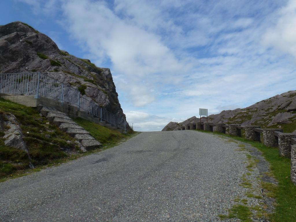 Healy Pass, de berg over.