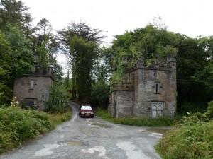 Dunboy Castle Gates.