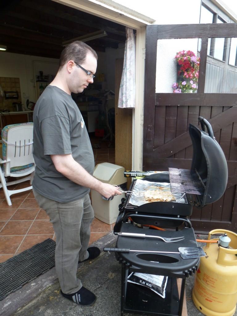 Ronald de BBQ-Man.