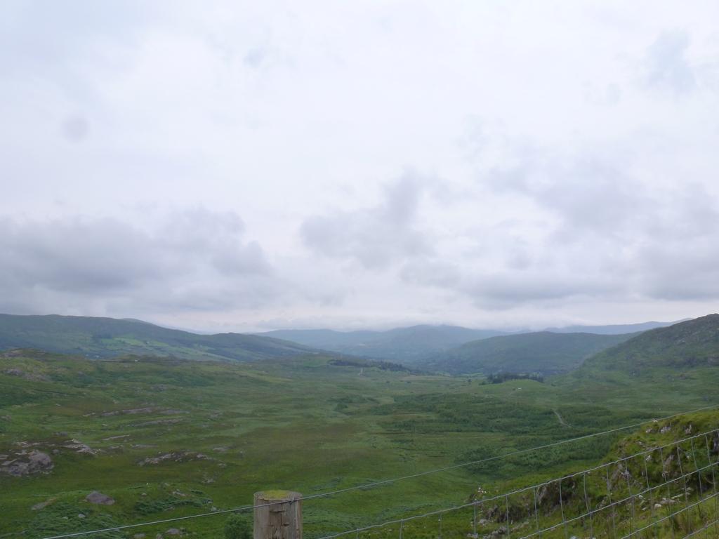 Uitzicht aan de Kerry kant van de tunnels.