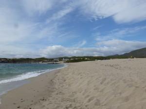 Het strand in Allihies.