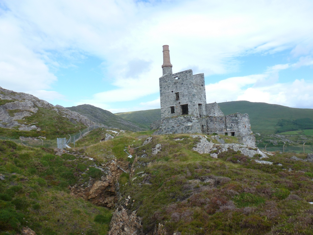 Allihies CopperMines North Engine House.