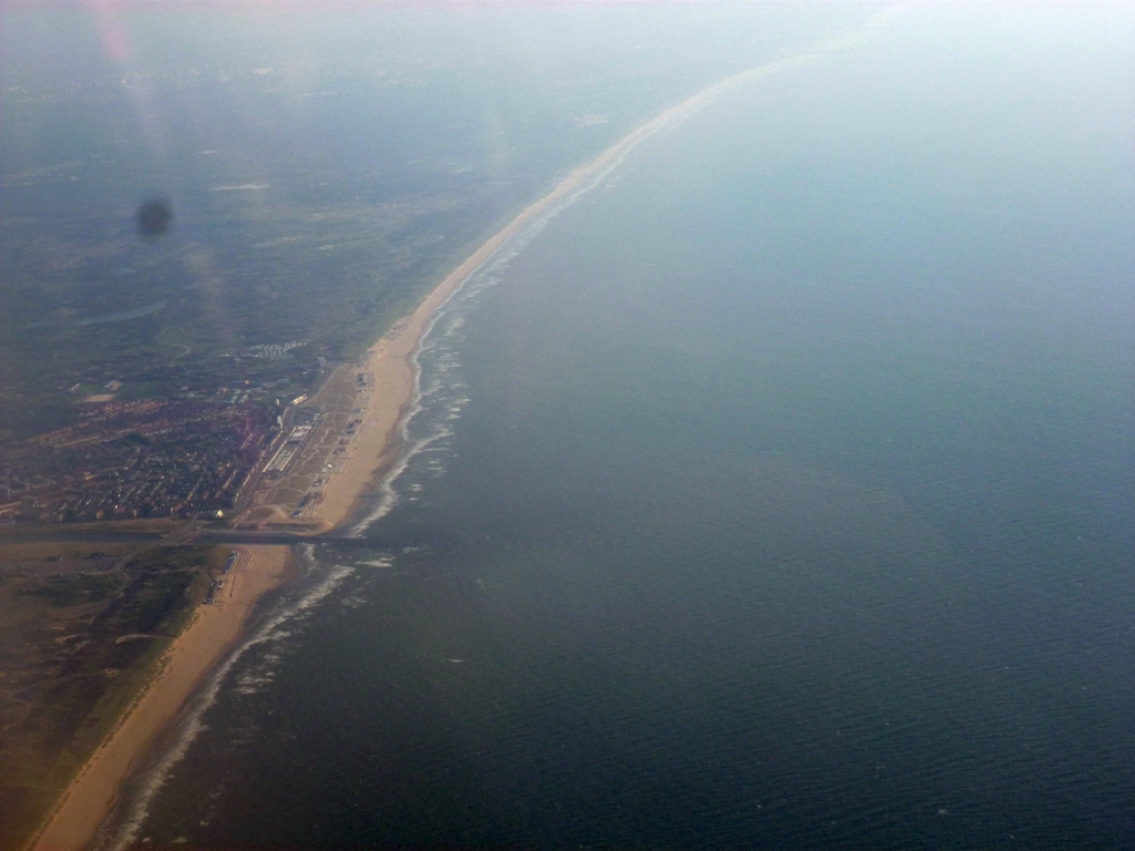 De Nederlandse kust.
