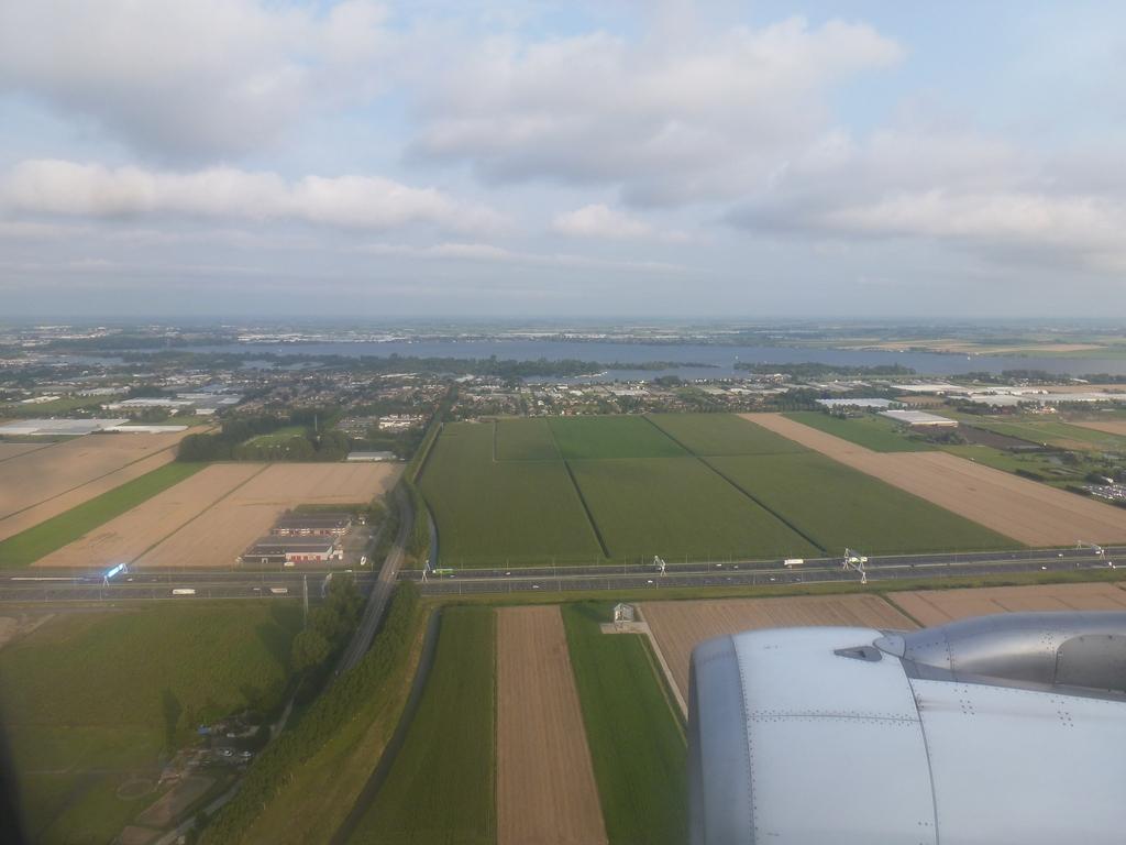 Het platte Nederland...