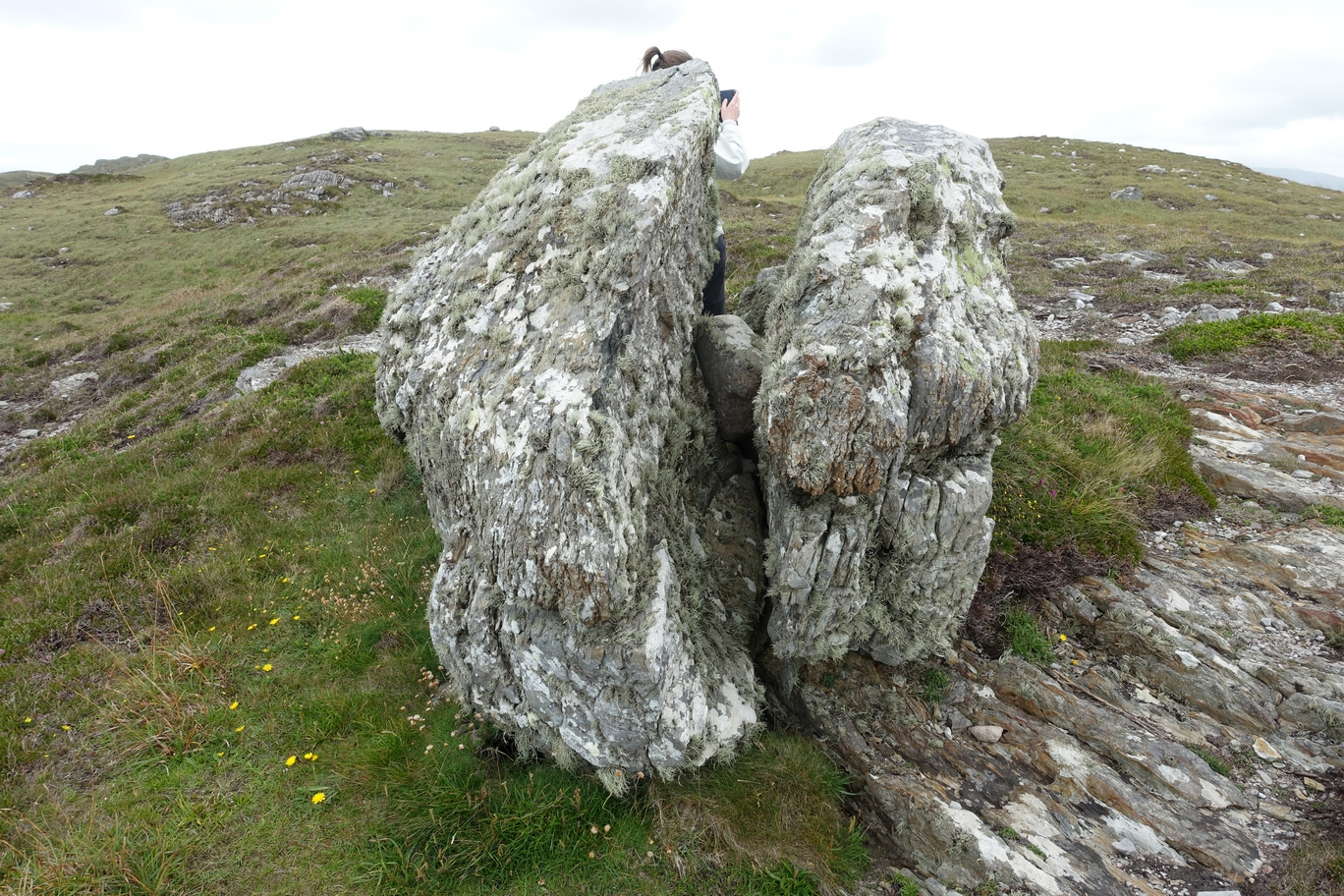 Geochache GCGBDD Beara Cache: Gespleten Rots