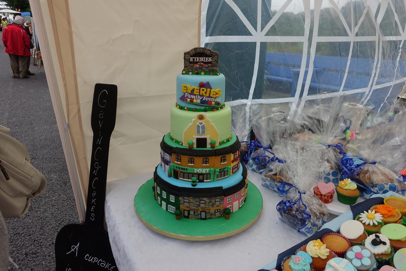 Grote taart