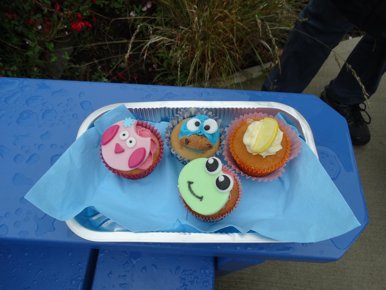 Onze cupcakeselectie