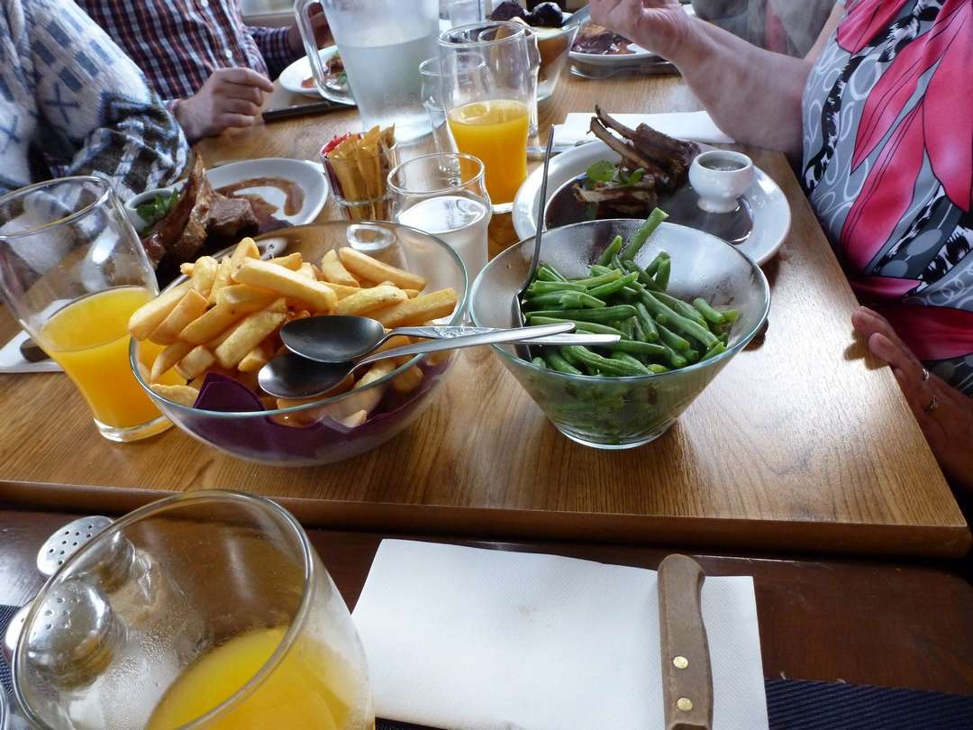 Eten bij Josies