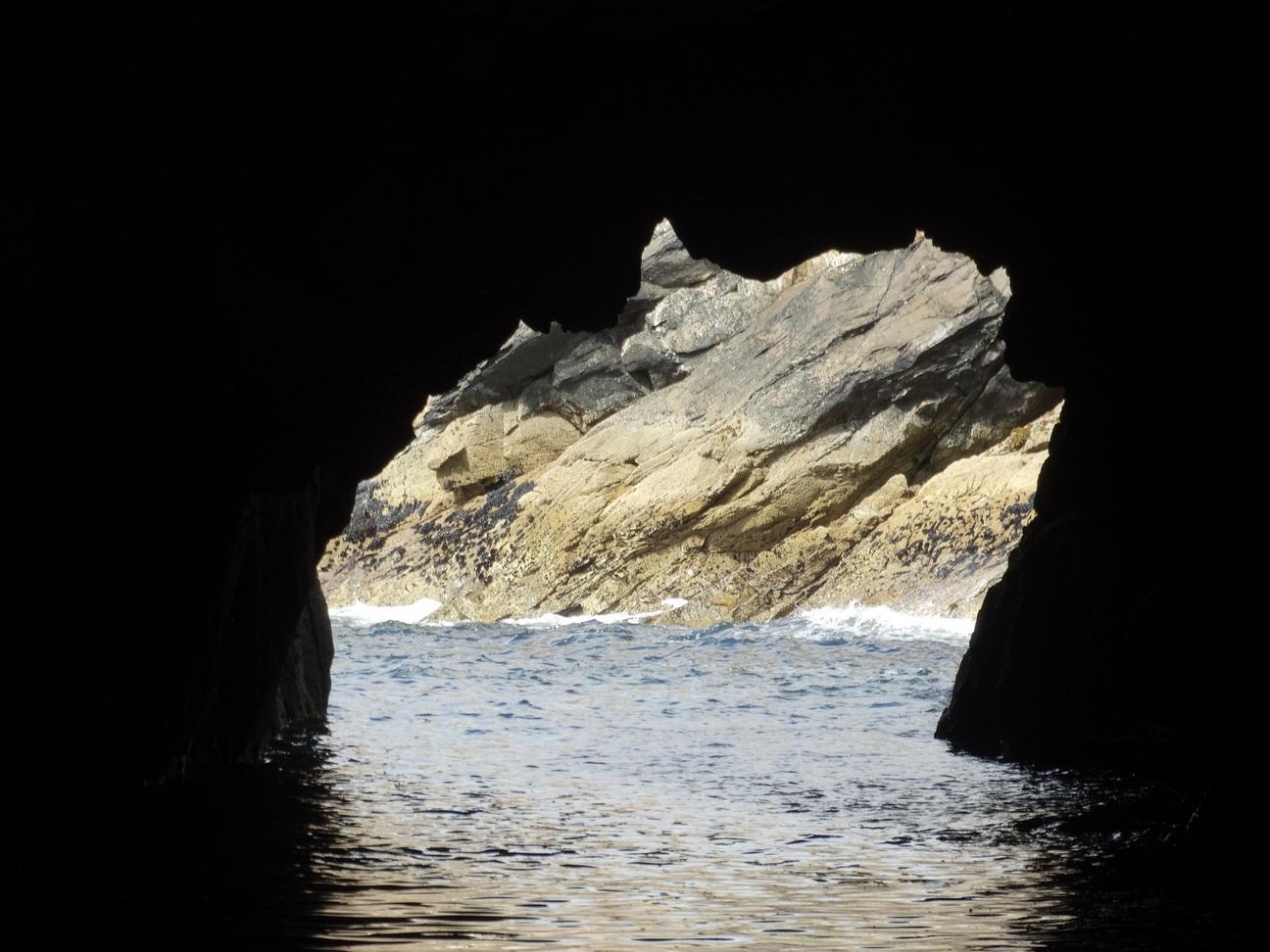 Het einde van de grotten, zee