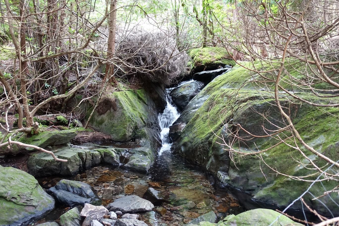 Toeristische route met al haar natuurpracht