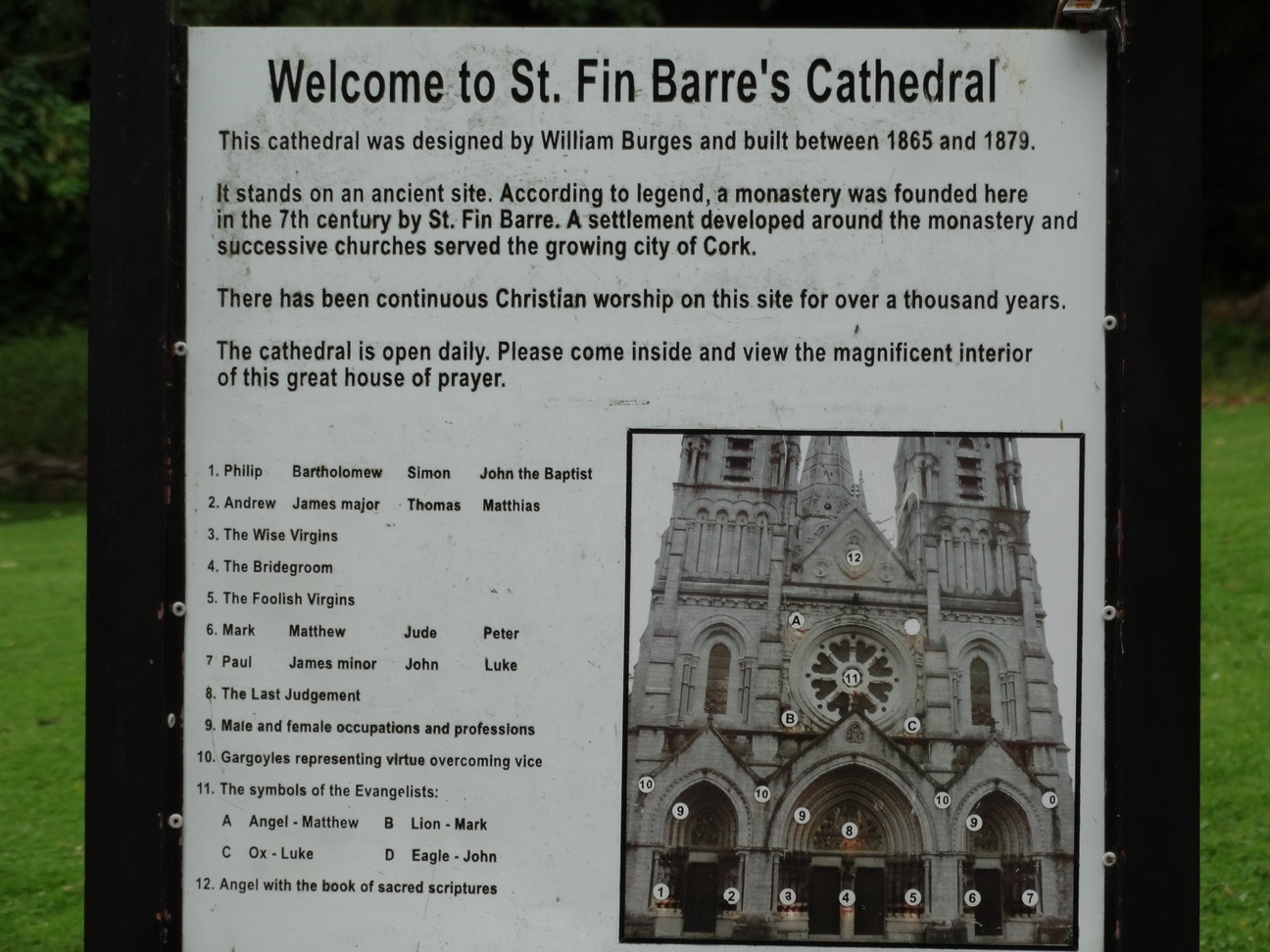 St Fin Barre's Cathedral